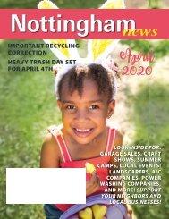 Nottingham April 2020