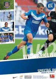 Stadionzeitung 6. Spieltag (KSC - FSV Frankfurt) - Karlsruher SC