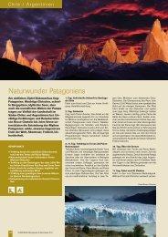Naturwunder Patagoniens - Globotrek