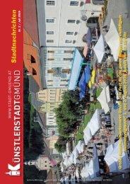 stadtnachrichten - Künstlerstadt Gmünd