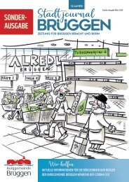 Stadtjournal Brüggen Sonderausgabe Corona
