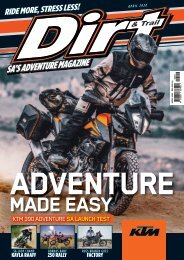 Dirt and Trail April 2020