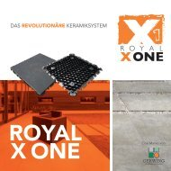 Gesamtkatalog Royal X One 2019