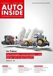 AUTOINSIDE Ausgabe 4 – April 2020