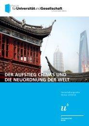 Der Aufstieg Chinas und die Neuordnung der Welt
