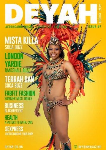 Deyah Magazine Issue #7 Aug 2019