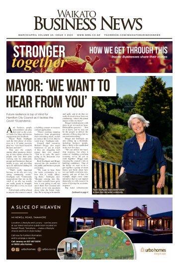 Waikato Business News March/April 2020