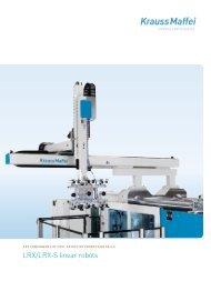 LRX/LRX-S linear robots - Plastics Bavaria