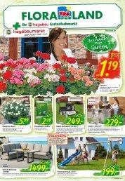 Floraland - Ihr hagebau Gartenfachmarkt | April 2020