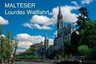 MALTESER Lourdes Wallfahrt