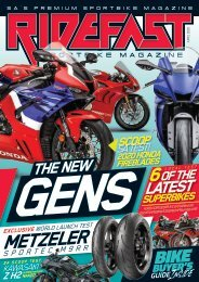 RideFast Magazine April 2020 issue