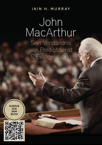 Murray: John MacArthur (Biografie)