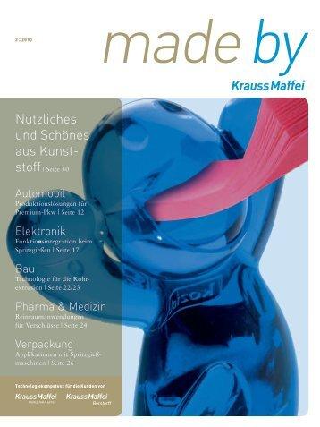 Wie viel KraussMaffei - Krauss-Maffei Kunststofftechnik GmbH