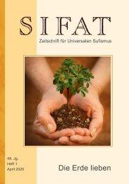 SIFAT - Die Erde lieben - Heft 1 - 2020 (Leseprobe)
