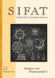 SIFAT - Religion und Wissenschaft II - Heft 3 - 2019 (Leseprobe)