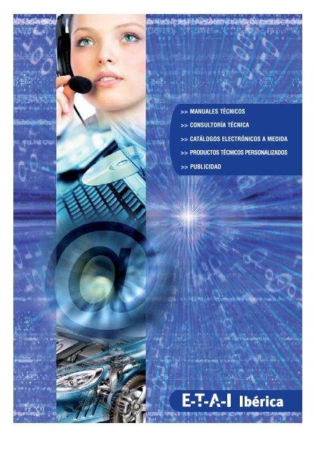 catálogos electrónicos a medida >> productos técnicos - ETAI Ibérica
