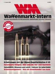 Waffenmarkt-Intern Ausgabe Januar 2003