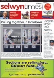 Selwyn Times: April 01, 2020