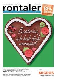 ebikon - Regionalzeitung Rontaler AG