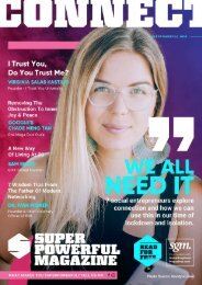 SuperPowerFul Magazine - Issue 1 - Connect
