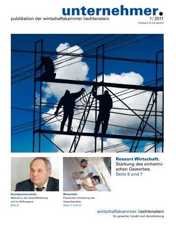01-2011 - unternehmer Magazin