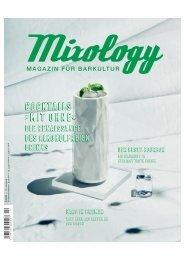 Mixology Issue #96 2/2020 - Cocktails »mit ohne«