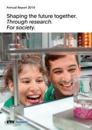 Annual Report_ETH Zurich Foundation_EN