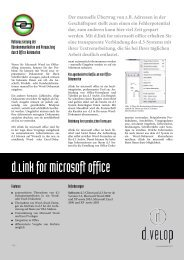 d.link for microsoft office - d.velop AG