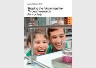 ETH Zurich Foundation - Annual Report 2019 (mobile)