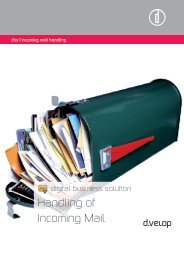 Handling of Incoming Mail - d.velop AG
