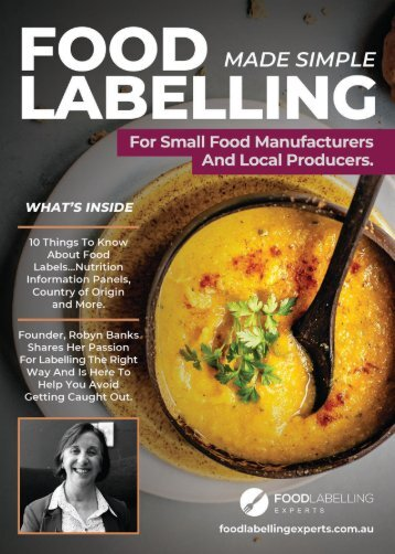 Food Labelling Made Simple Magazine