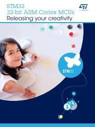 STM32 32-bit ARM Cortex MCUs Releasing your creativity