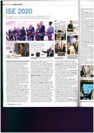 ProAVLMEA ISE2020 article about TOA seminars