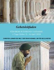 5 Tage Gebet für Sikhs