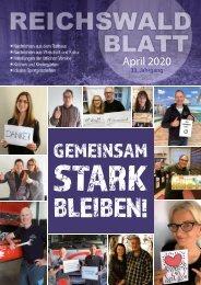Reichswaldblatt - April 2020