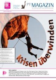 E-Paper PT-Magazin 01 2020 Krisen überwinden