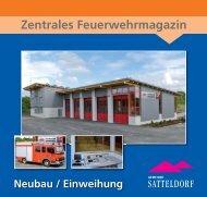 Zentrales Feuerwehrmagazin - Satteldorf