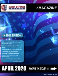 Cyber Defense eMagazine April 2020 Edition