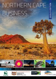 Northern Cape Business 2020/21 edition