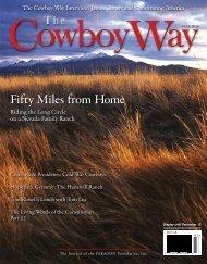Fifty Miles from Home Fifty Miles from Home - Paragon Foundation
