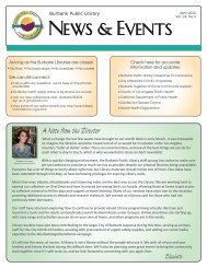 April 2020 Library News and Events