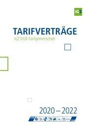 iGZ-DGB-Haupttarifwerk 2020-2022