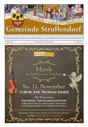 Samstag, 03.11.12 Ort: Kirche St. Magdalena Uhrzeit - Strullendorf