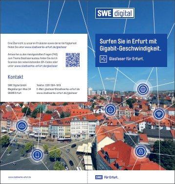 Ein Glasfasernetz für Erfurt