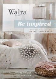 Walra Be inspired Spring Summer 2020