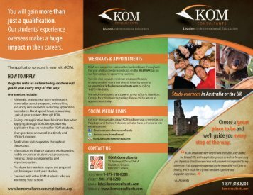 university-brochure - Kom Consultants