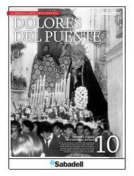 La Semana Santa desconocida - Dolores del Puente