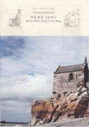 Gemeindebrief Juni - August 2012 - Herz-Jesu-Kirche