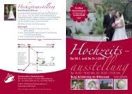 Hochzeits- ausstellung - Stadtschlaining