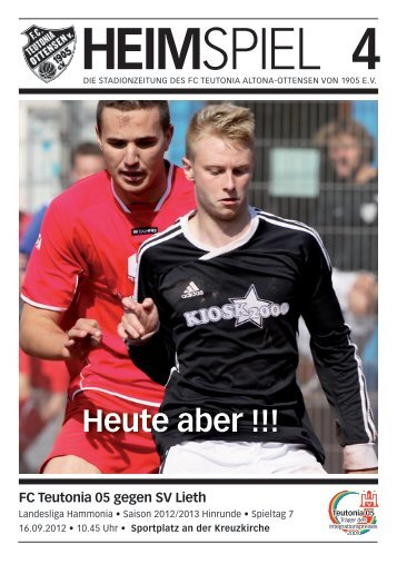 Heimspiel 4: T05 - SV Lieth - FC Teutonia 05 eV
